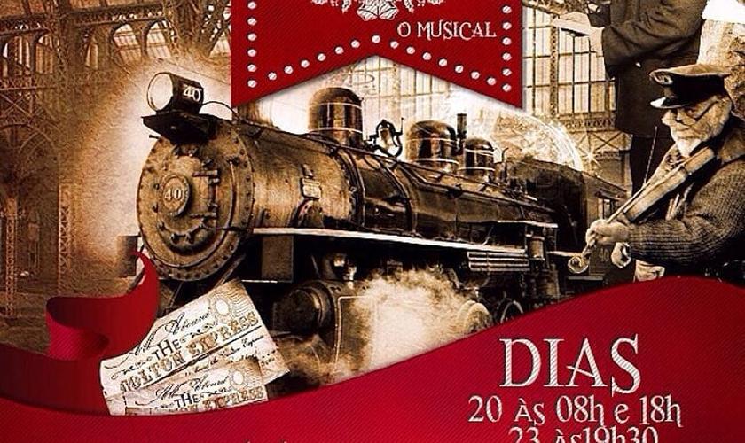 Convite do musical Estação centrao