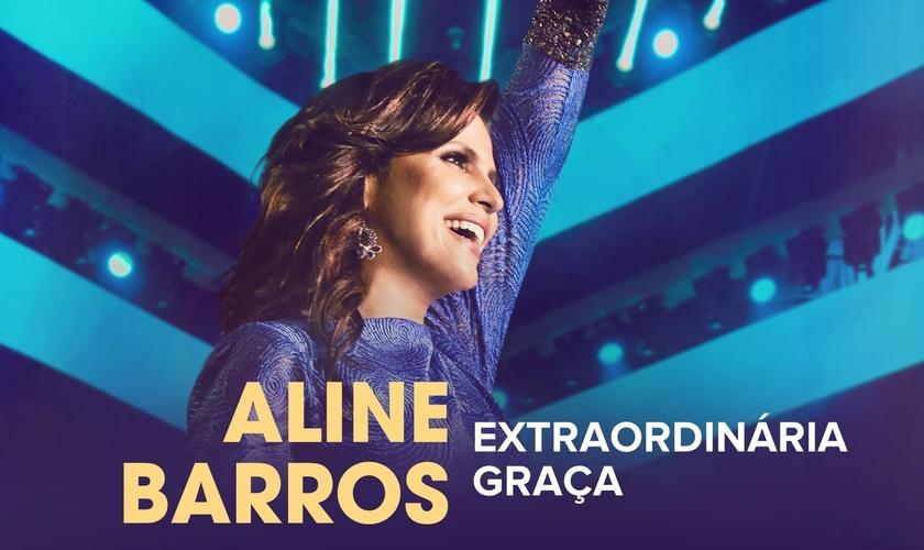 Aline Barros - Extraordinária Graça (Foto: divulgação)