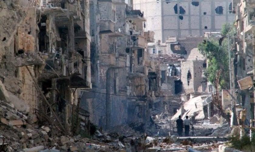 Deir ez-Zour em 2013 (Imagem: Ahmad Aboud/AFP)