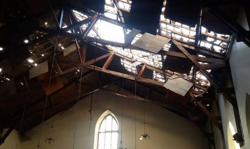 Igreja Armenian Evangelical Emmanuel em Alepo (Imagem: reprodução)