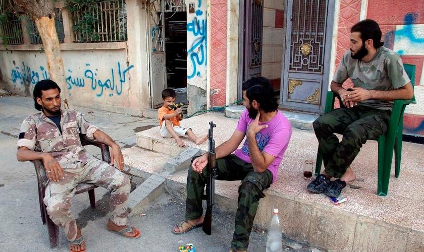 Imagem: Exército Livre Sírio (reprodução)