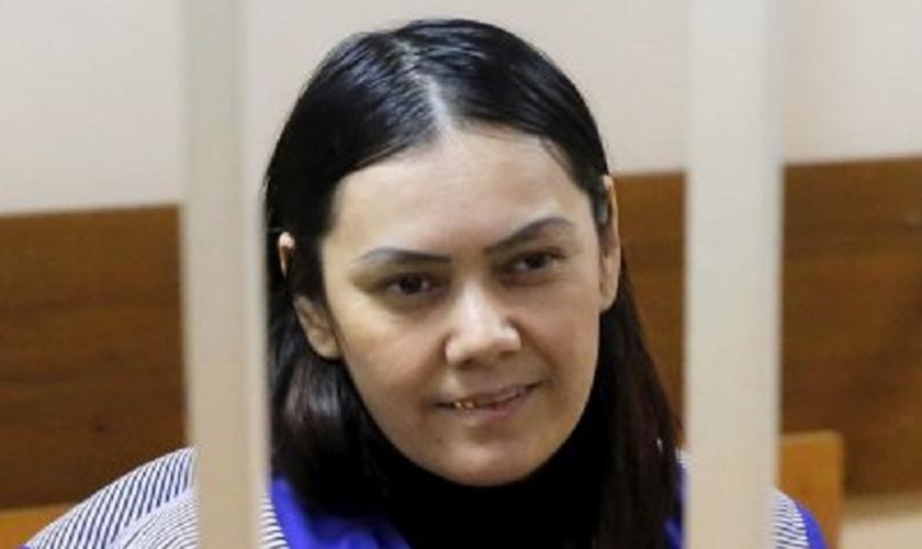 Bobokulova, de 38 anos de idade, também ameaçou explodir-se depois que policiais lhe pediram seus documentos de identidade. (Foto: Reuters)