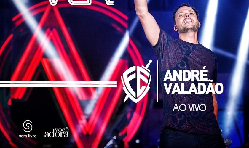 André Valadão no DVD Crer para Ver. Foto: Divulgação.