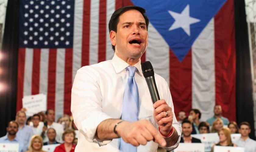 Marco Rubio era um dos candidatos à presidência dos EUA pelo partido republicano. (Foto: Reuters)