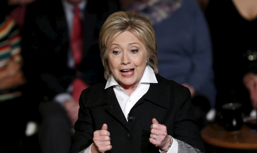 Hillary Clinton é candidata democrata à presidência dos Estados Unidos. (Foto:  Rebecca Cook / Reuters)