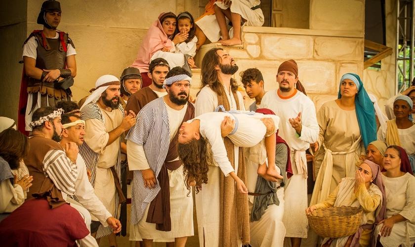 O musical tem um roteiro inovador, sendo um romance sobre a vida de um personagem tão pouco citado na Bíblia. (Foto: Alexandre Lutz).