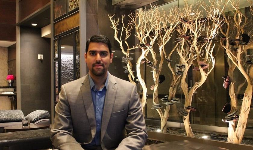 Qureshi foi criado como um muçulmano devoto nos EUA. (Foto: The Christian Post/Leonardo Blair)