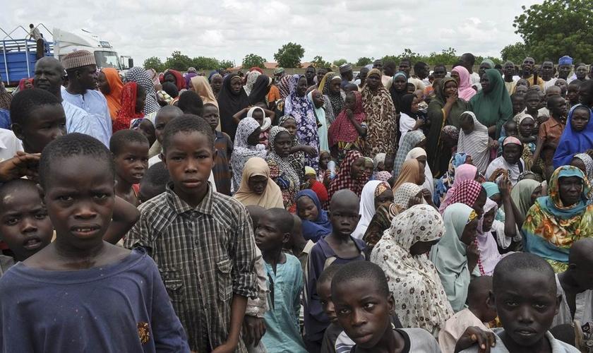 O extremo norte de Camarões é o local com o maior número de atentados suicidas com crianças. (Foto: Jossy Ola / AP).