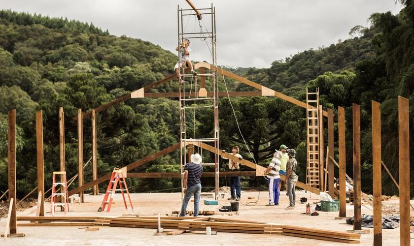 Um diferencial do projeto serão as moradias pré-moldadas. (Foto: Mais).