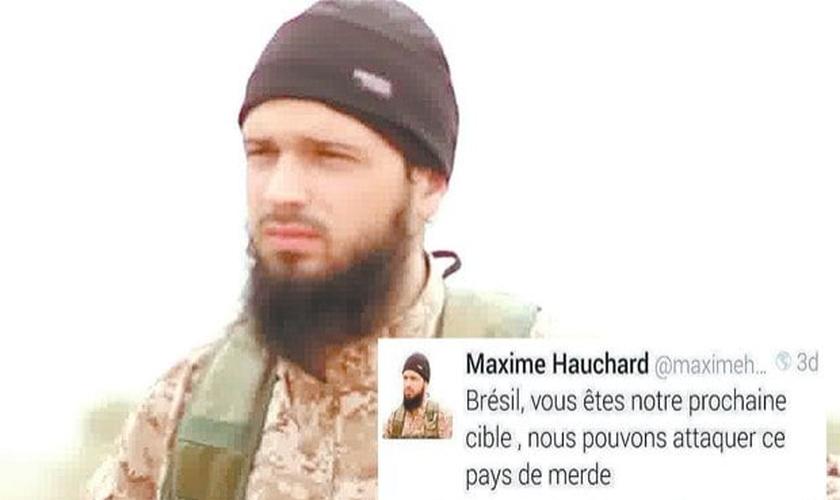 Maxime em um dos vídeos publicados pelo Estado Islâmico.