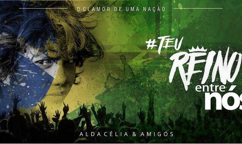 A cantora comenta que o Brasil pode ser governado por Deus. (Foto: Divulgação).