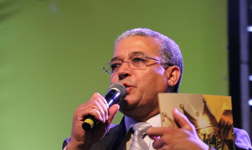 Vanderlei Marins, presidente da Convenção Batista Brasileira. (Foto: Guiame/ Marcos Paulo Corrêa)