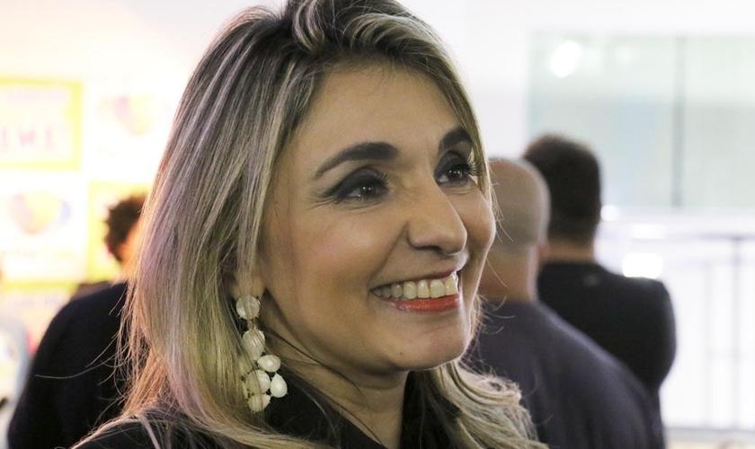 Soraya Moraes disse em entrevista ao Guiame que existe um grande preconceito pela mulher que escolhe cuidar da família. (Foto: Guiame/ Marcos Paulo Corrêa)