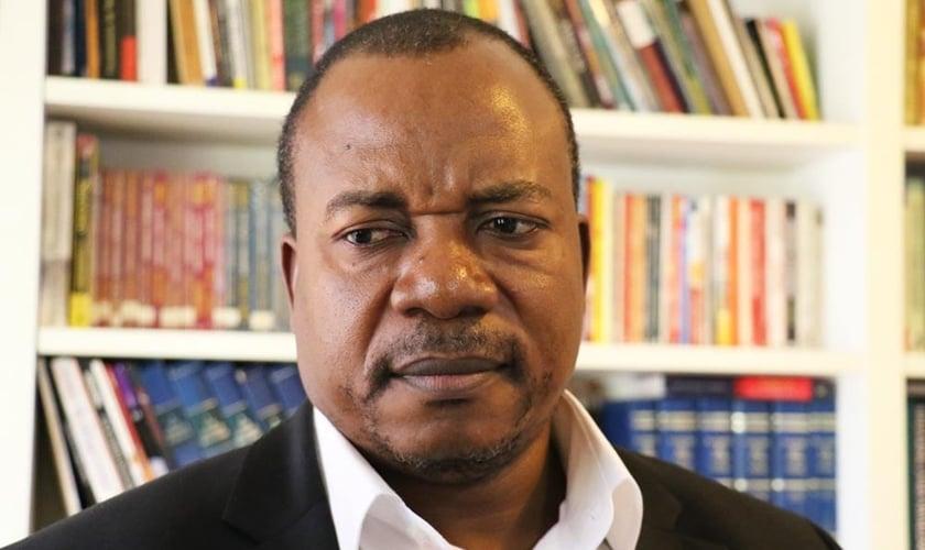 O bispo Albert Kankienza é conselheiro de Denis Sassou Nguesso, presidente da República do Congo. (Foto: Guiame/ Marcos Paulo Corrêa)