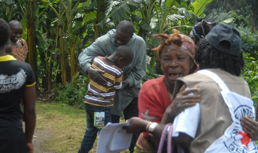 A ameaça nessa região do Congo, que tem uma população 95% cristã, tem sido crescente. (Foto: ICRC/Christian Katsuva)