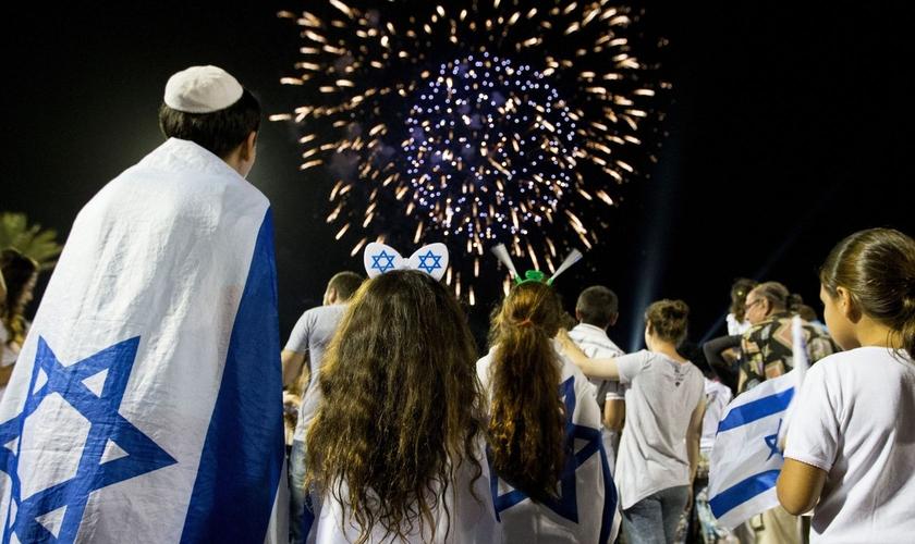 A última quinta-feira (12), que para os Israelitas representou um dia de festividades. (Foto: Reprodução).