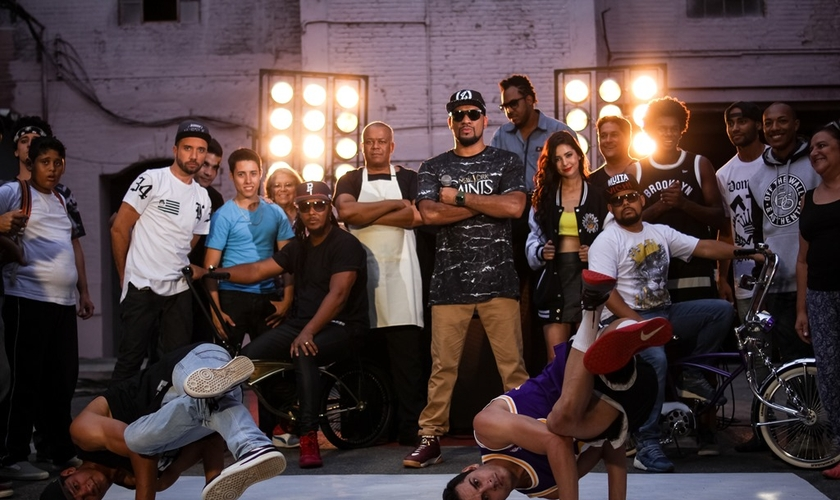 Durante a maratona de divulgação, o rapper explicou sobre sua expectativa em levar conscientização ao público. (Foto: Divulgação).