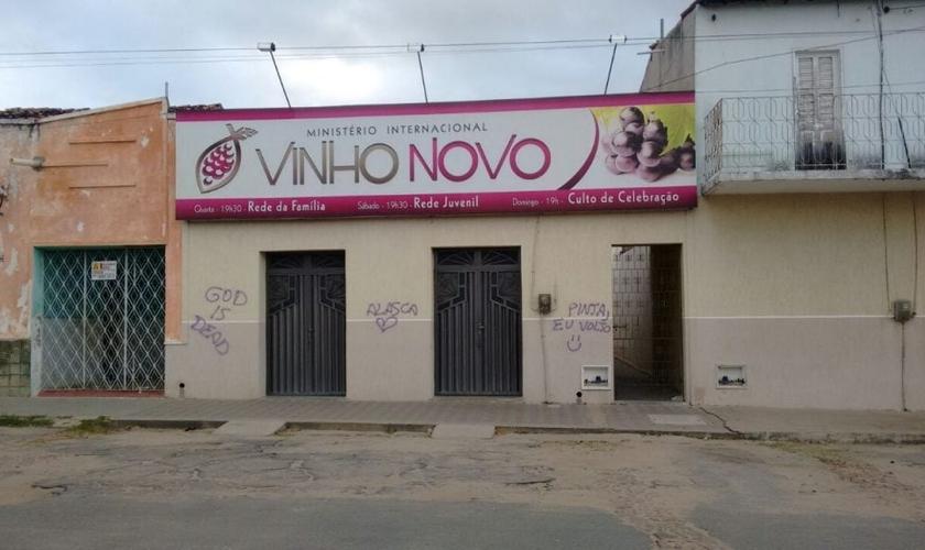 Segundo o pastor, um BO já foi realizado e eles aguardam os procedimentos. (Foto: Tribuna do Ceará).