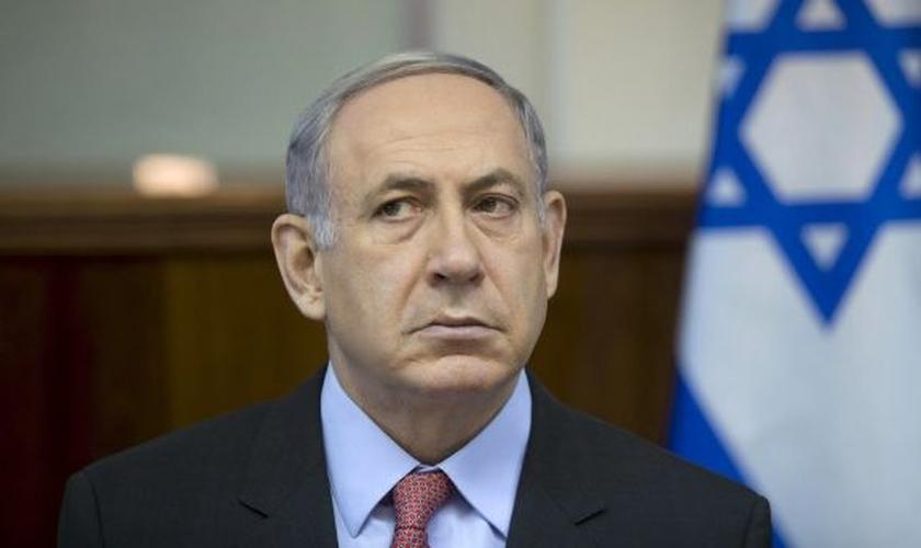 Benjamin Netanyahu é primeiro-ministro de Israel. (Foto: Haaretz)