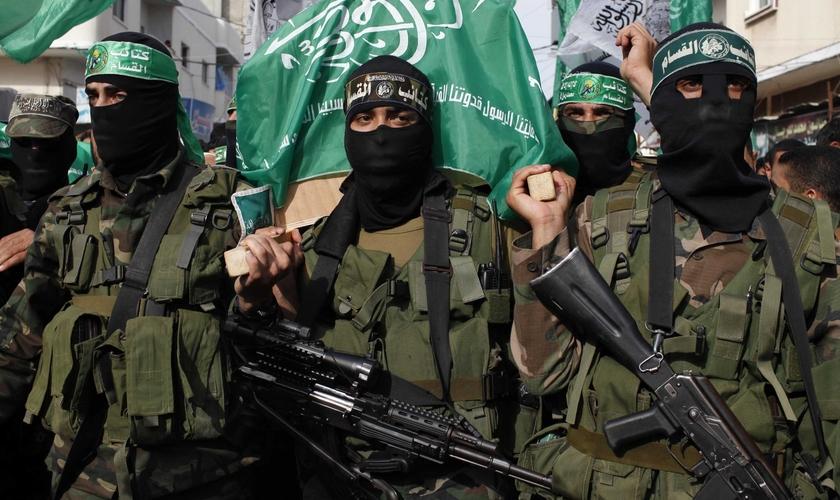 Membros do Hamas. (Foto: The blaze)