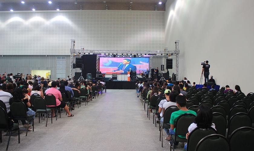 Francisco Everton da Silva, idealizador da Expoevangélica e presidente da F. Everton Feira de Negócios. (Foto: Guiame/Levi Facó)