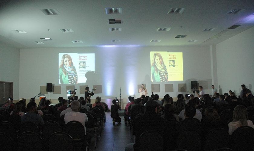 O Encontro de Mídias e Lojistas da Sony aconteceu pela primeira vez na região do Nordeste. (Foto: Guiame/Luana Novaes)