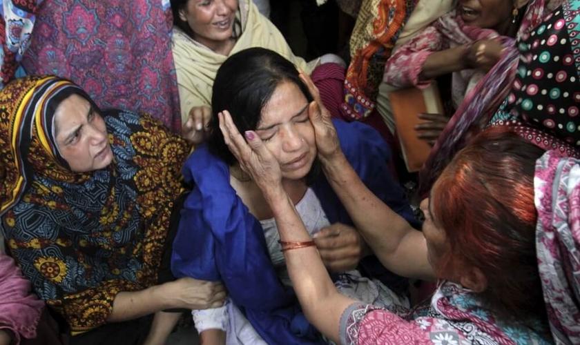 As acusações de blasfêmia foram formalmente aplicadas contra o cristão Nadeem James, que vive em uma província de Punjab no Paquistão. (Foto: Reprodução).