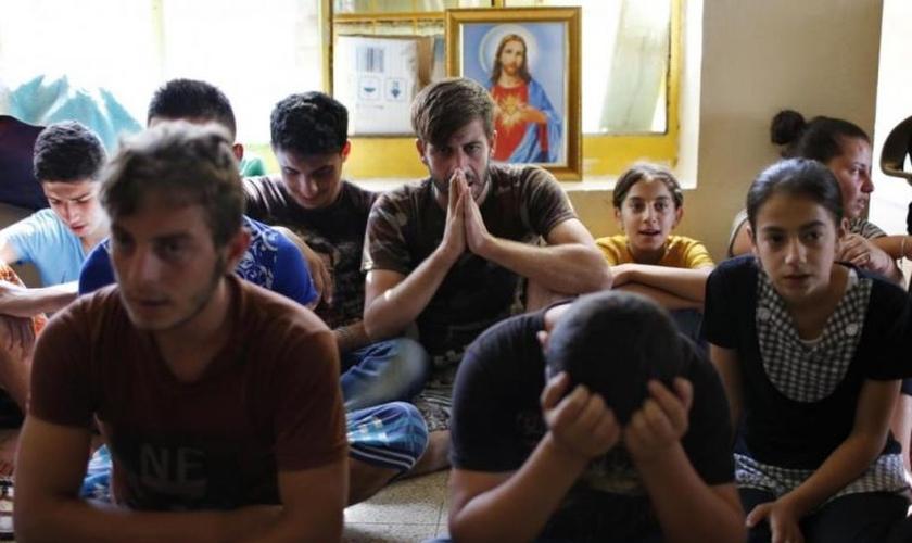 O Bispo pediu aos líderes mundiais para fortalecer a ajuda para aqueles que fugiram da guerra. (Foto: Reuters).