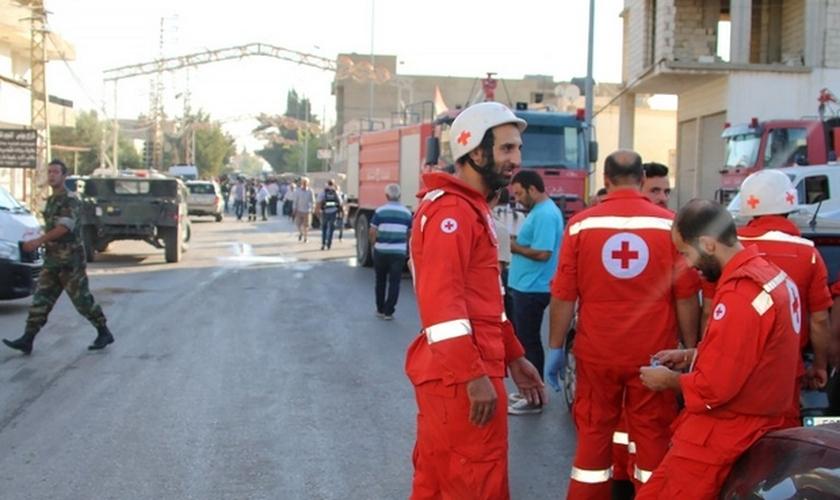 O local onde ocorreram os incidentes se localiza próximo da fronteira com a Síria. (Foto: Reprodução).