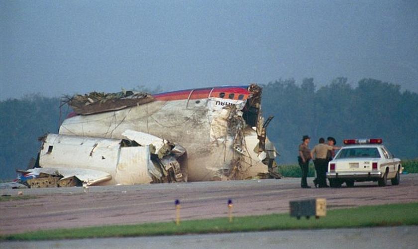No dia 19 de julho de 1989, o voo 232 da United Airlines nunca conseguiu chegar a seu destino. (Foto: Bettmann/Corbis)