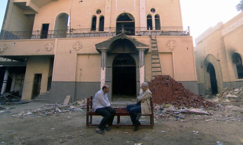 Os coptas são um grupo étnico-religioso situado principalmente na área do Egito moderno. (Foto: Reprodução).