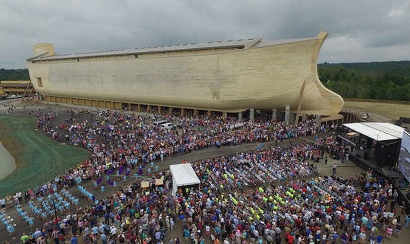 O parque tem como objetivo, contar a conhecida história bíblica da Arca de Noé de uma forma didática e interativa. (Foto: Eaglecountryonline)