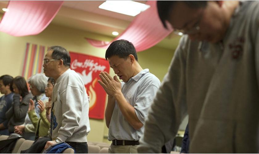 Na China, a população cristã tem crescido rapidamente, apesar de o país ocupar o 33º lugar na atual Classificação da Perseguição Religiosa. (Foto: Reprodução).