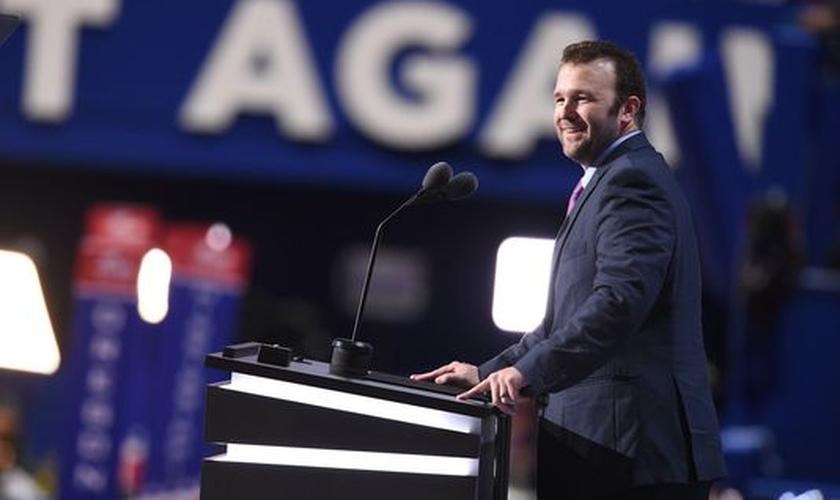 Brock Mealer compartilhou seu testemunho durante Convenção Nacional Republicana. (Foto: Freep)