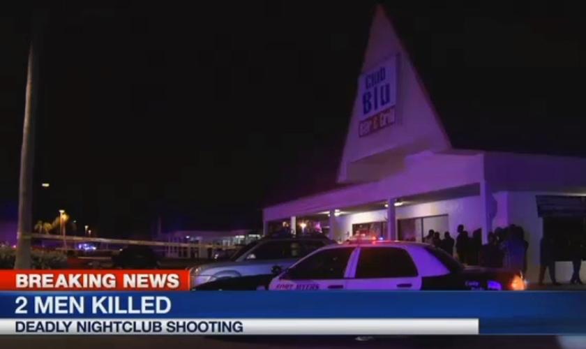 O incidente foi registrado seis semanas depois de um ataque contra uma boate gay em Orlando (Flórida). (Foto: Reprodução).