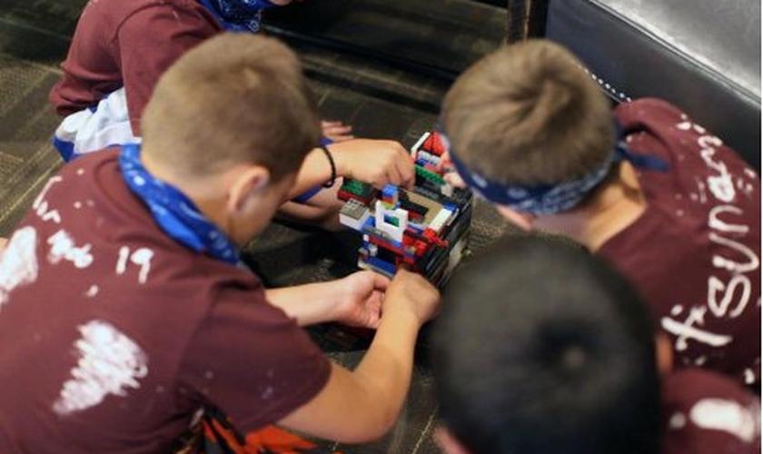 Cada criança foi desafiada a doar pelo menos US$3, para atingir a meta de US$ 4 mil. (Foto: Reprodução)