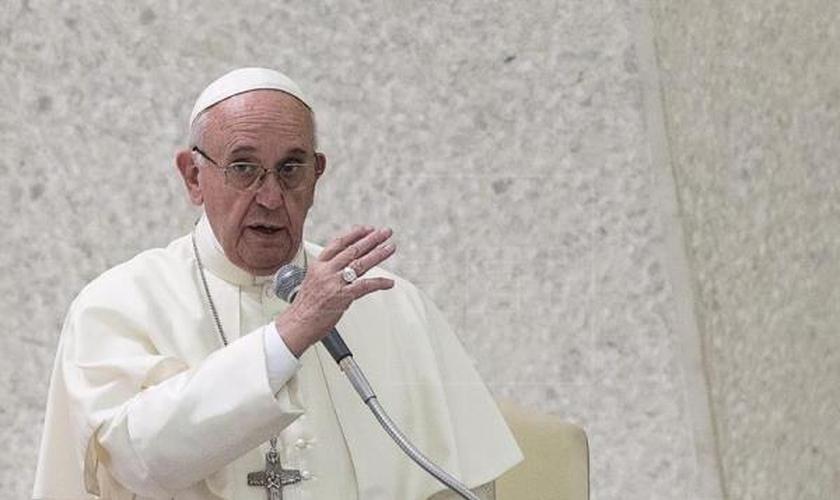 Papa Francisco em visita à Polônia. (Foto: EFE)