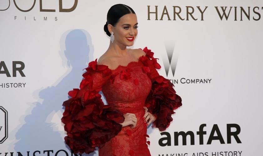 """Katy Perry chegou a cantar música gospel quando jovem, mas hoje faz sucesso com letras controversas, como """"I Kissed a Girl"""". (Foto: Reuters)"""