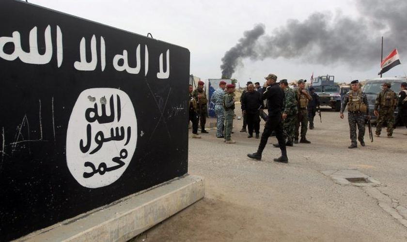 Em maio, o Estado Islâmico criou a primeira conta em português no Telegram. (Foto: AFP/Getty Images)