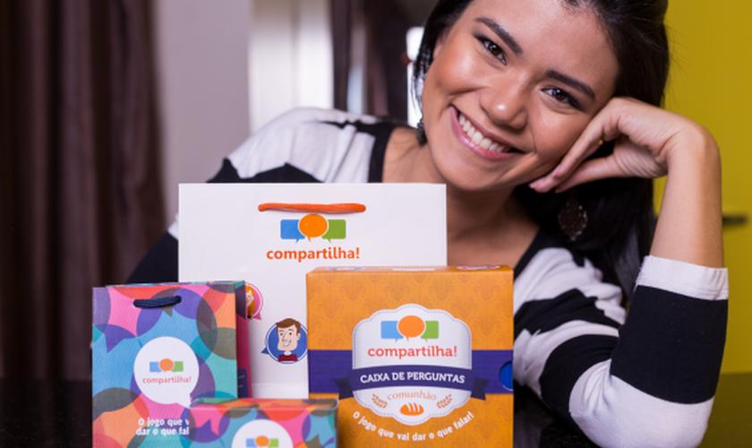 Thalita Lin sempre sonhou em usar a sua formação para criar produtos criativos que aproximassem as pessoas. (Foto: Divulgação).