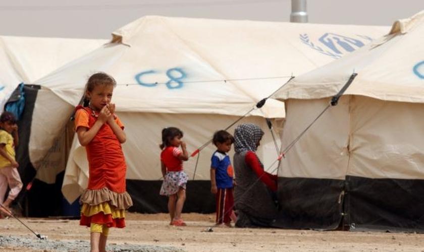 A violenta perseguição contra os cristãos fez com que muitos se mudassem para outros lugares. (Foto: Reuters/Ari Jalal).