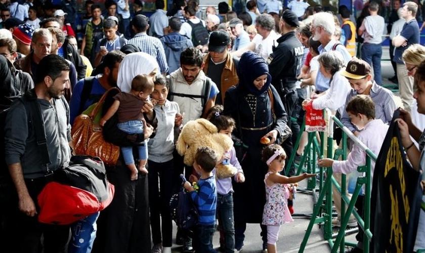 Os cristãos que procuram asilo na Alemanha estão enfrentando ameaças diárias de extremistas muçulmanos. (Foto: Reuters).