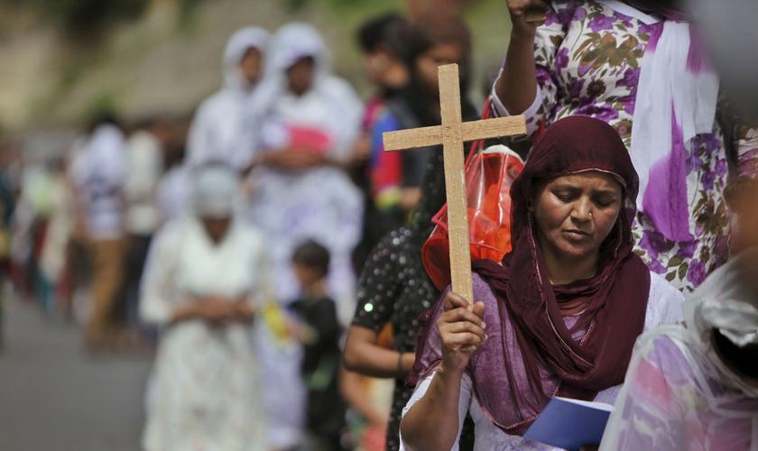 A Índia é o 17º país que mais persegue cristãos no mundo, segundo o Portas Abertas. (Foto: Reuters)