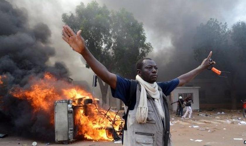 O incidente fez com que as pessoas temessem mais ataques violentos. (Foto: AFP).