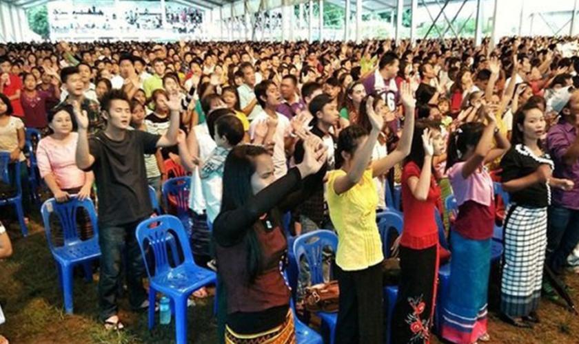 Para o governo, existe um temor em relação ao aumento de uma religião que é minoria na região. (Foto: Reprodução).
