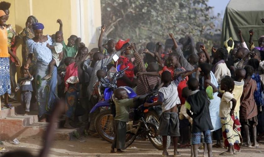 O hospital da Igreja Anglicana de Maiduguri pretende atender gratuitamente a toda a comunidade. (Foto: Reuters)