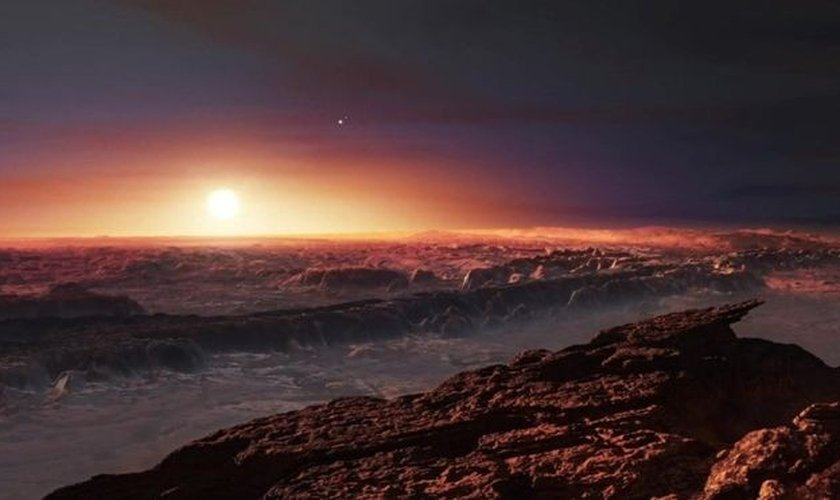 Proxima b também seria sólido e rochoso como a Terra. (Foto: ESO)