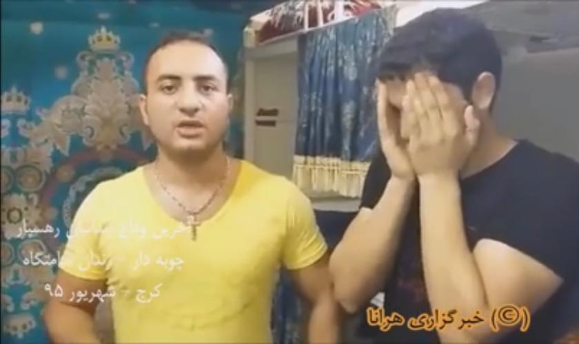 """Asadi teria dito no vídeo que ele está feliz pelo fato de estar """"indo se encontrar com o Senhor"""". (Foto: Reprodução)."""