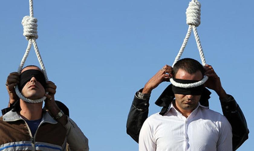Doze pessoas foram mortas pelas autoridades iranianas no fnal de agosto. (Foto: Reprodução)