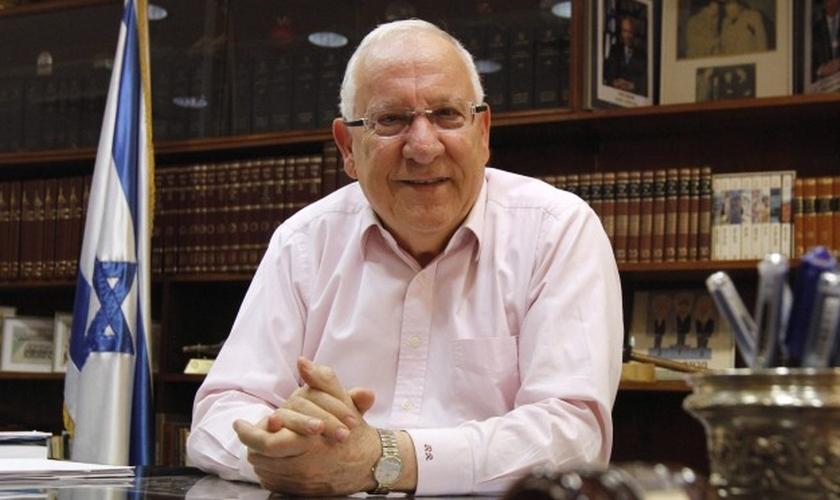 """Presidente de Israel elogia vínculo entre cristãos e judeus """"por causa de seu amor"""". (Foto: Miriam Alster/Flash90)"""